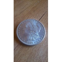 One Morgan Dollar / srebro - 1884 rok